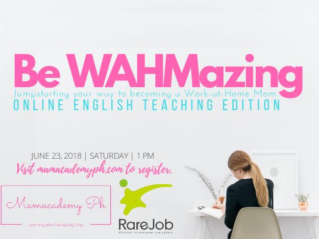 WAHM Series: Online English Teaching for WAHMs